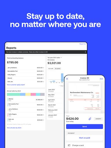 Simple Invoice Maker - Easy Estimate & Invoice App apktram screenshots 24