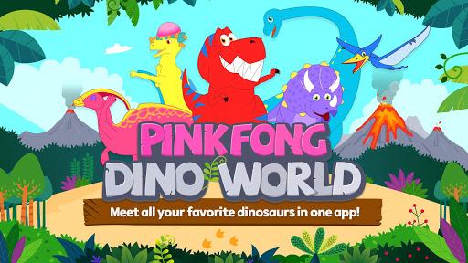 pinkfong dino world screenshot 1