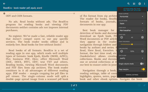 ReadEra - book reader pdf, epub, word 20.12.17+1320 Screenshots 13