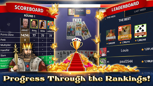 VIP Tarot - Free French Tarot Online Card Game 3.7.4.26 screenshots 6