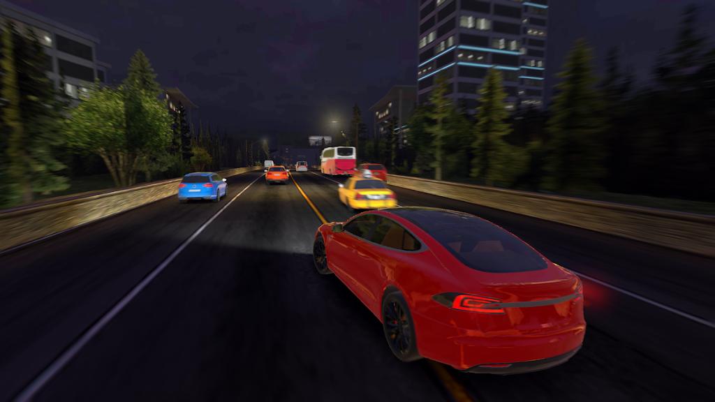 Racing in Car 2021 - POV traffic driving simulator  poster 14