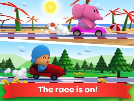 Pocoyo Racing: Kids Car Race - Fast 3D Adventure  screenshots 9
