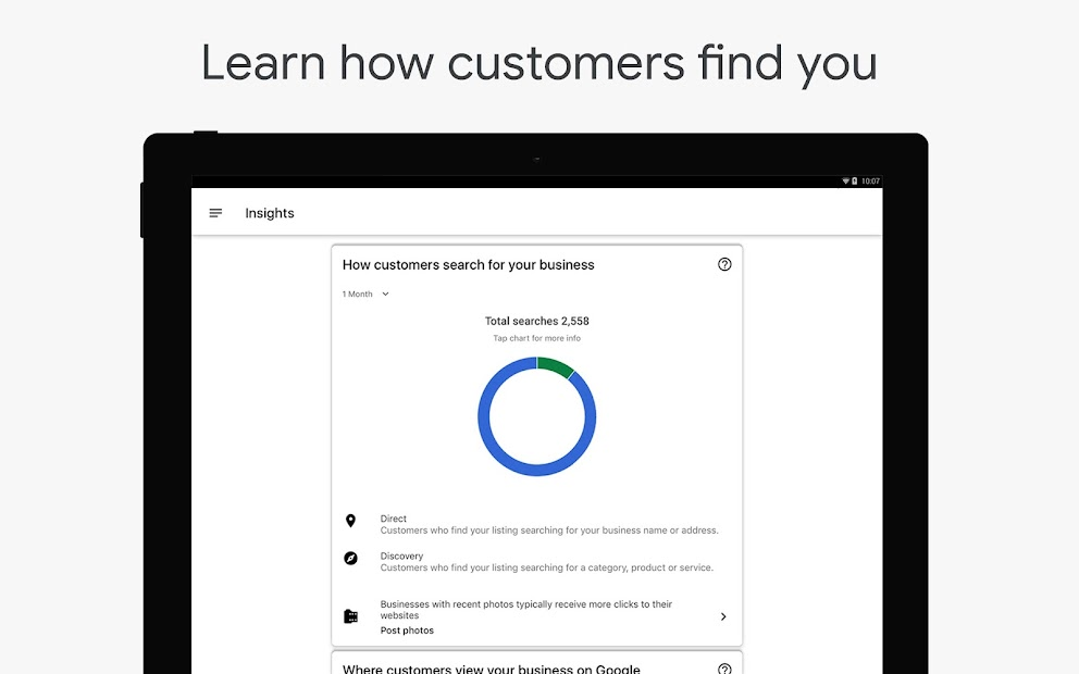 Google My Business - Connect with your Customers screenshot 9