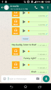 Voice to Messenger 3