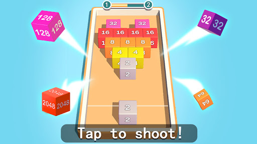2048 3D: Shoot & Merge Number Cubes, Block Puzzles 1.703 screenshots 1