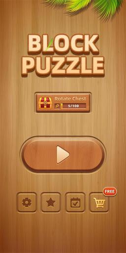 Wood Block Puzzle - New Block Puzzle Blast Game  screenshots 6