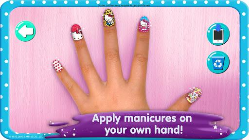 Hello Kitty Nail Salon goodtube screenshots 4
