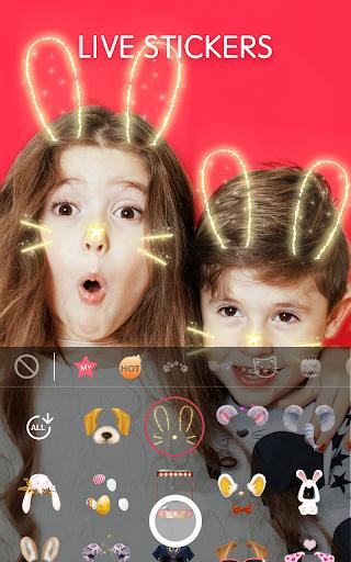 Face Camera: Photo Filters, Emojis, Live Stickers  Screenshots 1