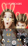 screenshot of Face Camera: Photo Filters, Emojis, Live Stickers