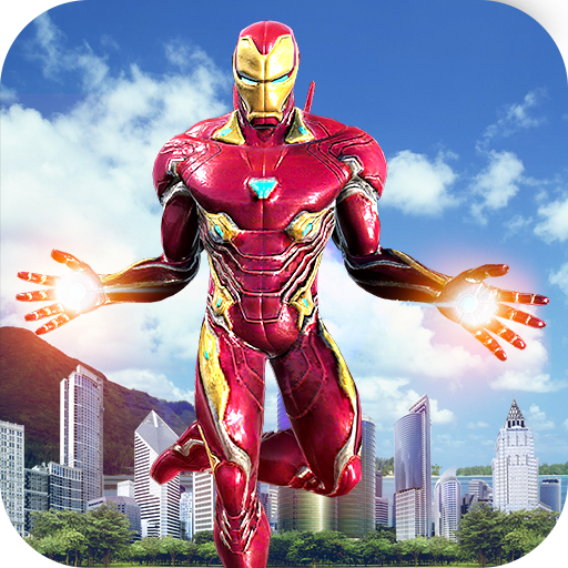 Baixar Flying Superhero Revenge: Grand City Captain Games para Android