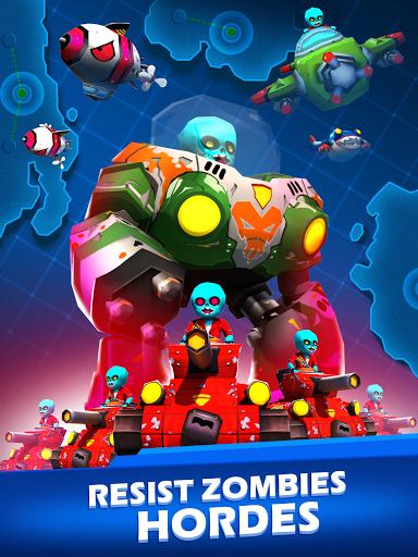 Zombie Defense : Idle Game 1.6 screenshots 11