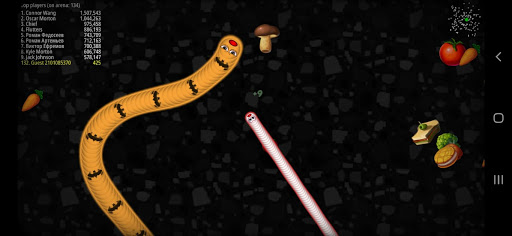 Worms Zone Snake Game apkpoly screenshots 2