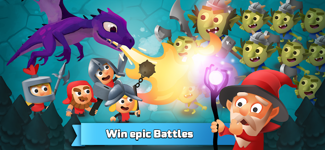 Idle King – Medieval Clicker Mod Apk 1.0.24 (Unlimited Money) 3