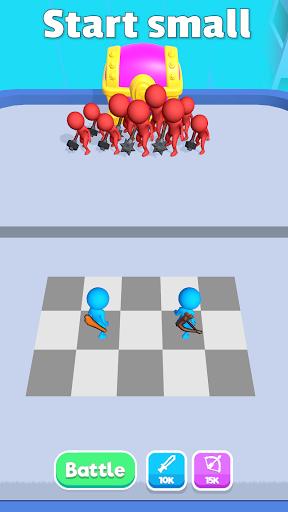 Code Triche Merge Battle APK MOD (Astuce) screenshots 1