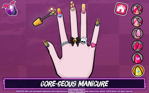 Monster Highu2122 Beauty Shop: Fangtastic Fashion Game  Screenshots 3