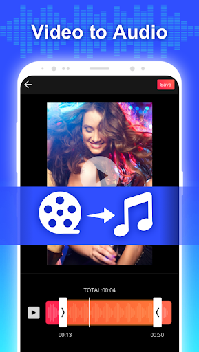 Conver Video To MP3  Free Video To Audio Extractor 1.2 Screenshots 2
