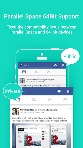 Parallel Space Lite 64 Support 1.0.3049 Screenshots 1