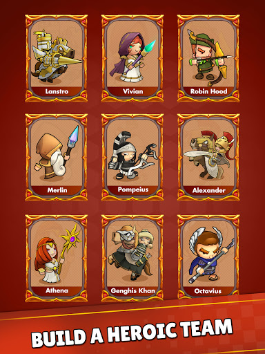 Mini War:Idle Tower Defense Varies with device screenshots 12