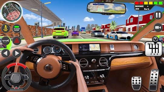Kent sürme okul simülatör araba otopark Apk İndir 4