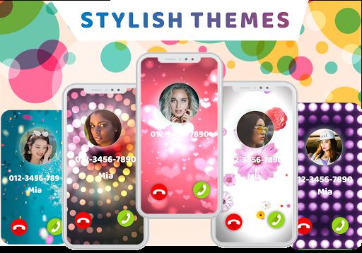 Call Screen-Color Phone, Call Flash, Theme Changer 1.2.8 Screenshots 5