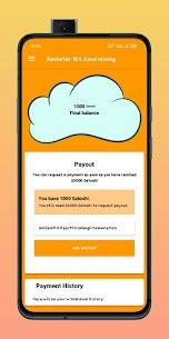 HashStar – Bitcoin Cloud Mining APK Paid 3