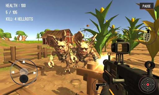 Monster Killing City Shooting 1.0.7 screenshots 2