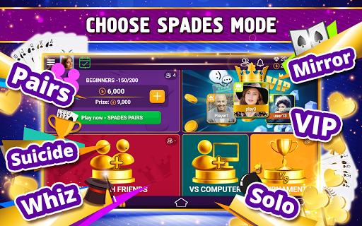 VIP Spades - Online Card Game screenshots 11