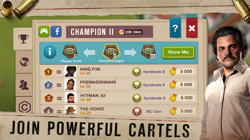 Narcos: Cartel Wars. Build an Empire with Strategy android2mod screenshots 1