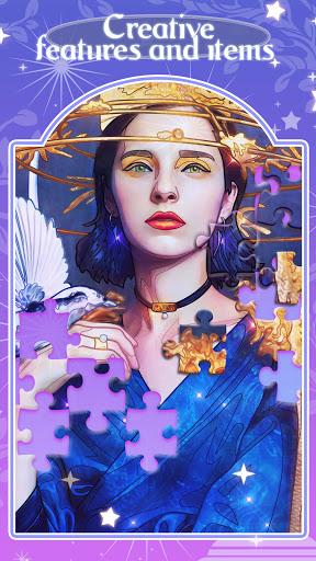 Happy jigsaw puzzles - calm & relax Apkfinish screenshots 4