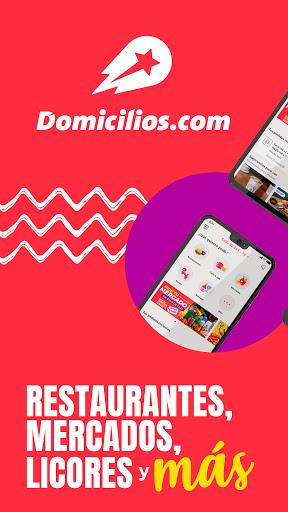 Domicilios.com - Delivery App  Screenshots 1