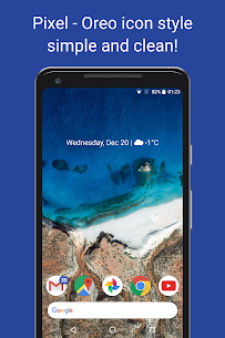 Pireo Apk- Pixel/Pie Icon Pack 3.2.1 (Paid) 1