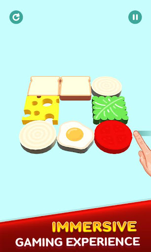 Perfect Sandwich Folding Puzzle Master android2mod screenshots 15