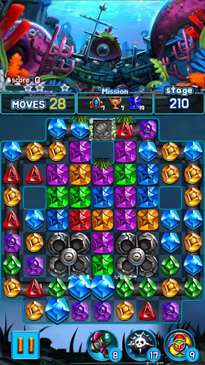 Jewel Kraken: Match 3 Jewel Blast 1.9.1 screenshots 8