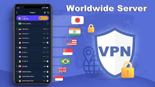 Free VPN Master - Unlimited Ultra Fast WiFi Proxy  screenshots 4