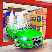 Car Wash Games: City Car Wash Parking Free Games