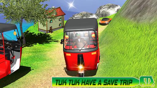 Modern auto tuk tuk Real rickshaw game 2021 1.8 screenshots 11