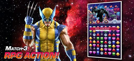 MARVEL Puzzle Quest: Join the Super Hero Battle! Apkfinish screenshots 5