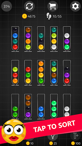 Ball Sort Master with Hints apktreat screenshots 1