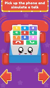 Baby Carphone Toy. Kids game Mod Apk app for Android 1