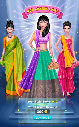 Wedding Fashion Stylist: Indian Dress up & Makeup 1.0 screenshots 18