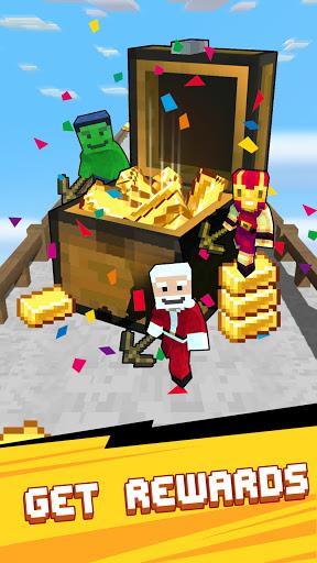 Craft Runner - Miner Rush: Building and Crafting Apkfinish screenshots 14