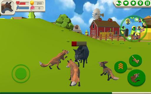 Fox Family - Animal Simulator 3d Game APK MOD – ressources Illimitées (Astuce) screenshots hack proof 1