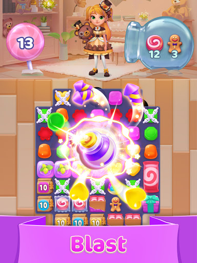 Jellipop Match-Decorate your dream islanduff01 7.8.6 screenshots 6