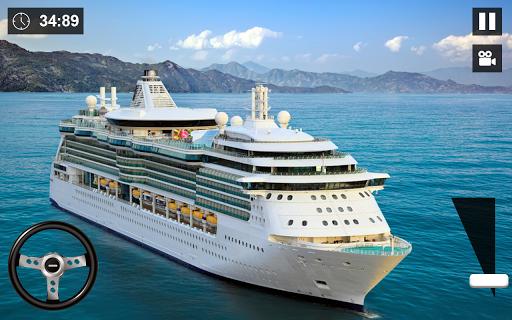 World Cruise Cargo Big Ship:Passenger Ferry Sim 20 screenshots 4