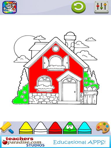 Coloring Book for Kids screenshots 11