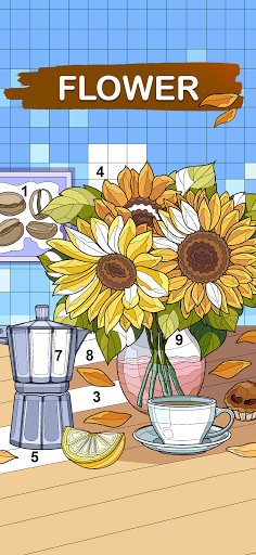 Art Games : Color by number 1.0.0 screenshots 3