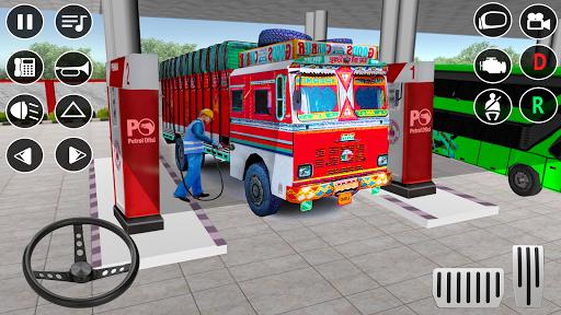 Indian Truck Modern Driver: Cargo Driving Games 3D apktram screenshots 9