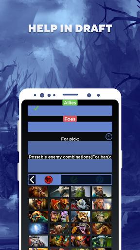 Doter's assistant for Dota 2 apktram screenshots 6