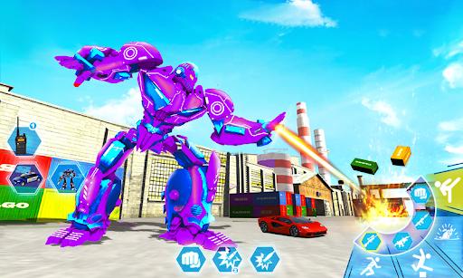 Robot Car Transformation: 3D Transformation Games 1.1.12 screenshots 7