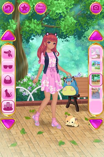Anime Dress Up - Games For Girls 1.1.9 Screenshots 5